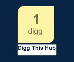 How To Add Prominent Digg button to your Hubs and increase hub bookmarking rate