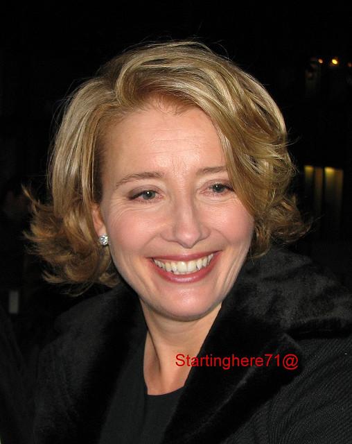 Actress Emma THOMPSON