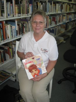 Local childrens author in Kununurra