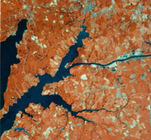 remote sensing  image taken by nasa