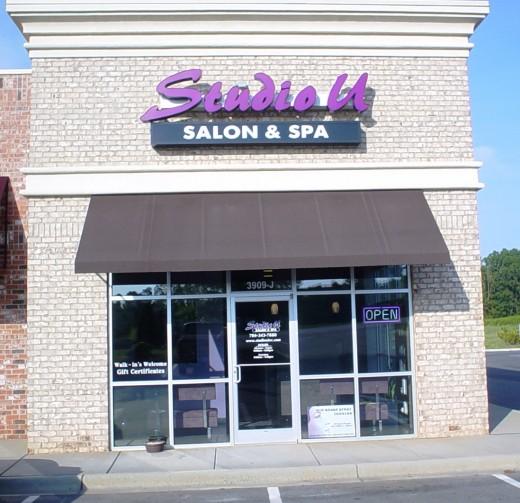 Studio U Salon & Spa's new location in Waxhaw,N.C