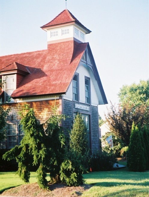 A Historic Lewes House Built to Resemble a Real Lighthouse.