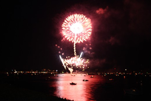 Fireworks starts from 22:30 p.m. to 23:00 p.m.