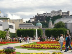 Sightseeing in Salzburg City, the Birthplace of Mozart