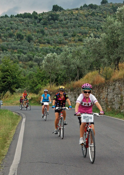 Cyclists roll into an adventure