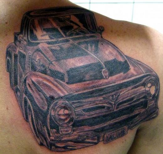 Ford Thunderbird, Mustang, Mercury, F-100 Tattoos