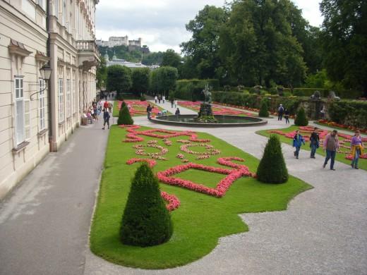 Mirabell Garden, Salzburg, Austria