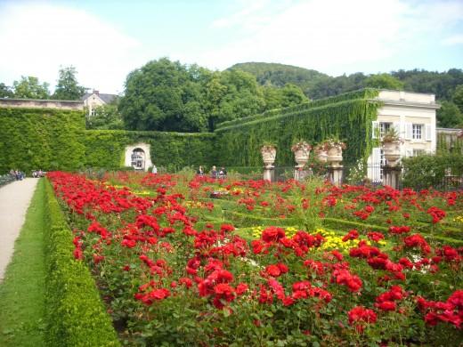 Mirabell Garden Salzburg, Austria