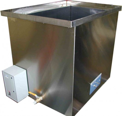 40 Gallon Ultrasonic with Heated Solution