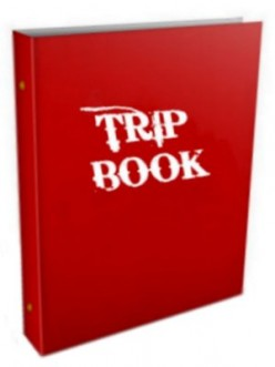 Trippin' with TRIP BOOKS and How To Make Them
