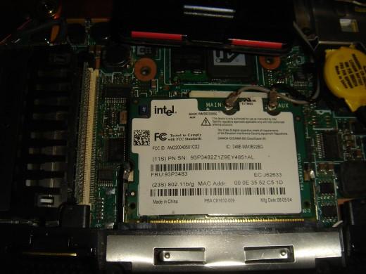 WiFi Card Inside