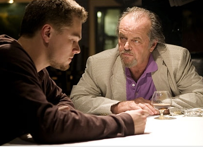 The Departed starring Leonardo DiCaprio and Jack Nicholson