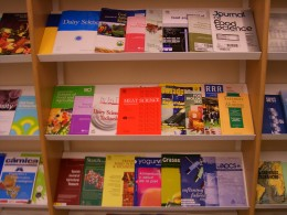 A selection of scientific journals from library of University of Basque Country
