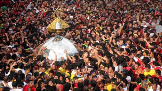 Traslacion in Naga City for the feast of Nuestra Senora de Penafrancia
