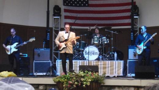 Tim Mahoney, Buddy Holly (Brian Mahoney), Timmy Sean, and Jay Swanson