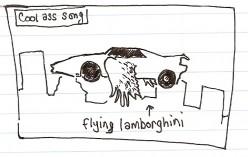 Rain Man storyboard