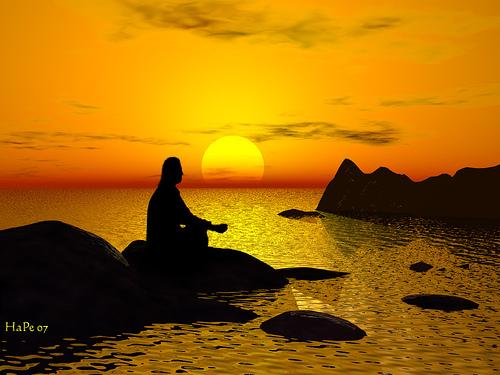 Meditating for Brain training