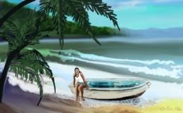Manana original artwork by Orion Hale