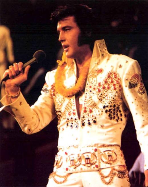 Elvis Presley pioneered this look