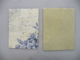 Background cardstock and base card.