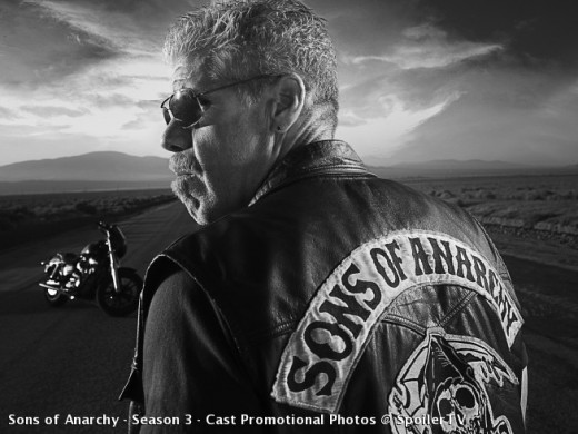 "Clarence ""Clay"" Morrow - President of  the Sons of Anarchy Motorcycle Club."