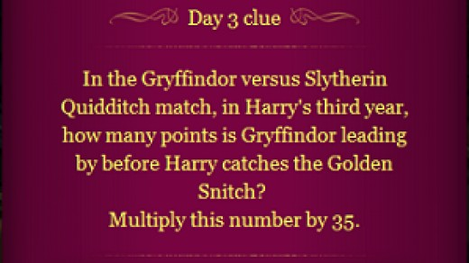 Pottermore Clue Day 3