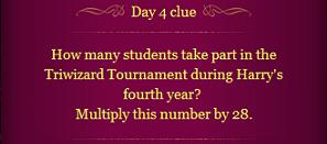 Pottermore Clue Day 4