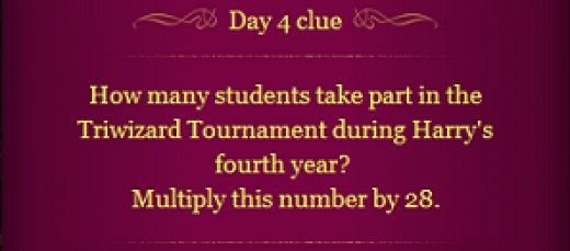 Pottermore Clue Day 4