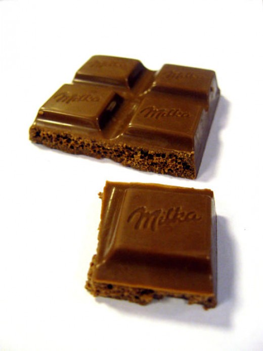 Chocolate is used in no bake cookies as a coating and as a binder.