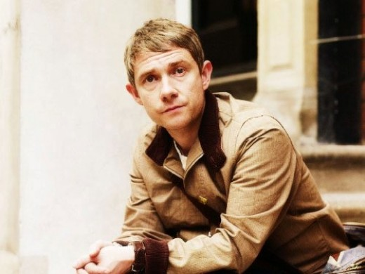 Martin Freeman, ladies and gentlemen! Can I hear some applause?