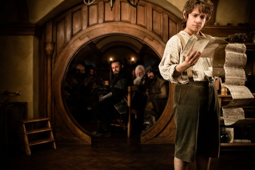 "Freeman as Bilbo Baggins in ""The Hobbit: An Unexpected Journey"""