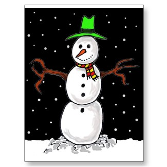 Great ideas for kids to draw...A Snowman perhaps.