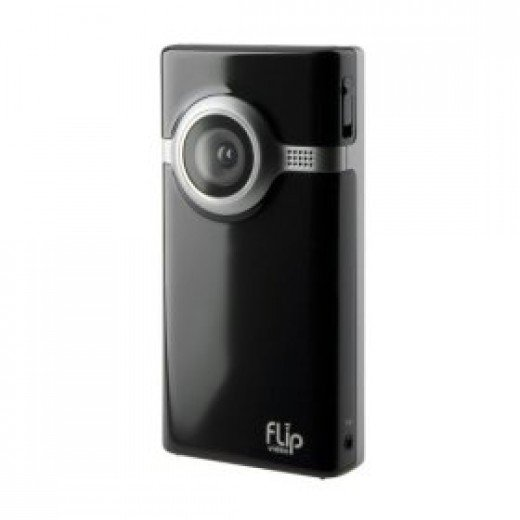 Flip Video Mino Series Camcorder, 60 Minutes (Black)