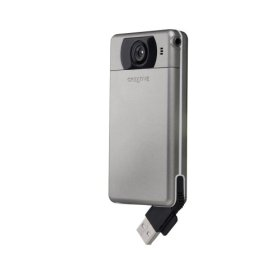 Creative Labs Vado Pocket Video Camcorder (Silver)