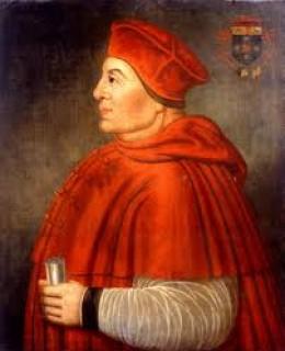 Cardinal Thomas Wolsey (portrait) 1473 - 1530