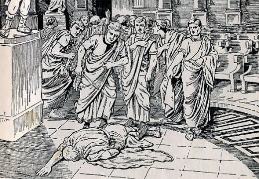 The death of Caesar