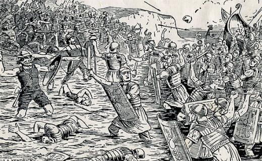 The Landing Of Roman