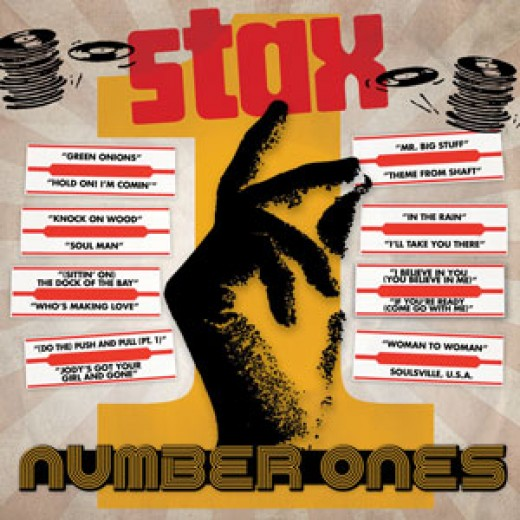 "Stax Records ""Number Ones"" CD"