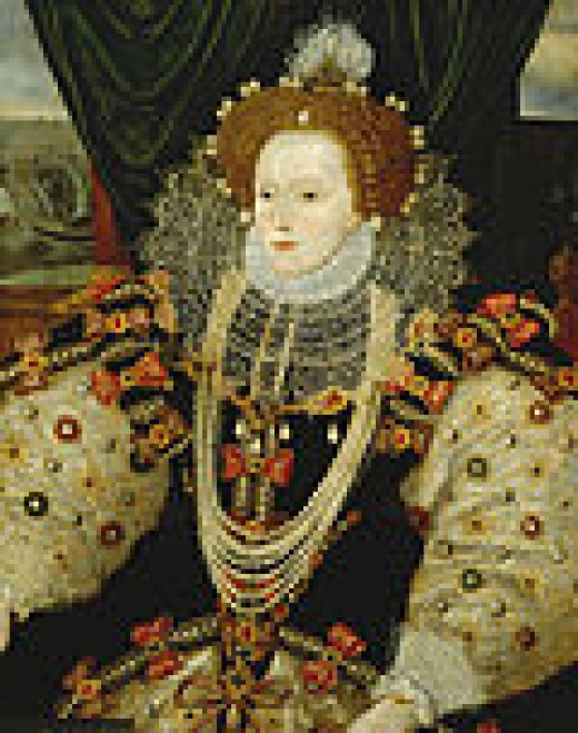 Queen Elizabeth wore pearls incessantly, considering them the symbol of purity.