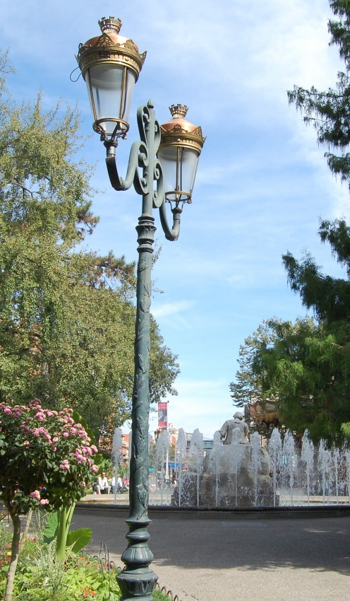 Place Wilson - might be worth an evening visit just for the lamp light