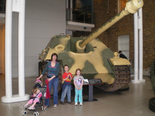 At the Imperial War Museum
