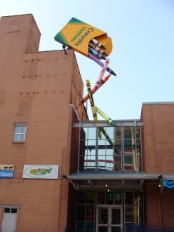 The Crayola Factory in Easton, Pennsylvania:  A Visitor's Guide
