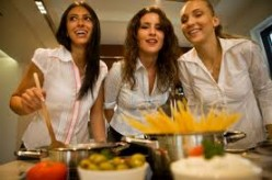 Cooking and Dining with Friends