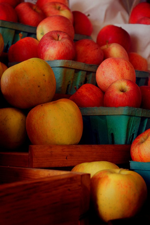 Apples are a key symbol for Mabon.