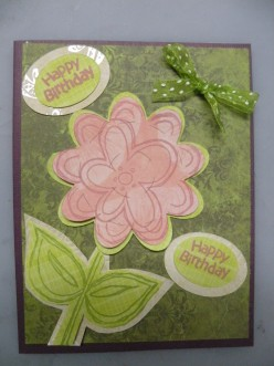 Easy to Make Happy Birthday card