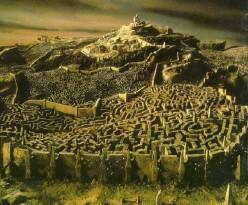 Rosamund's Labyrinth at Blenheim