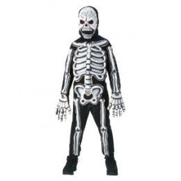 Kids glow in the dark skeleton costume