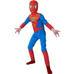 Spiderman glow in the dark kids costume