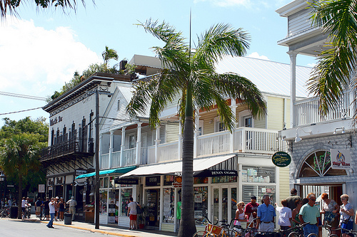 Duval Street in Key West.