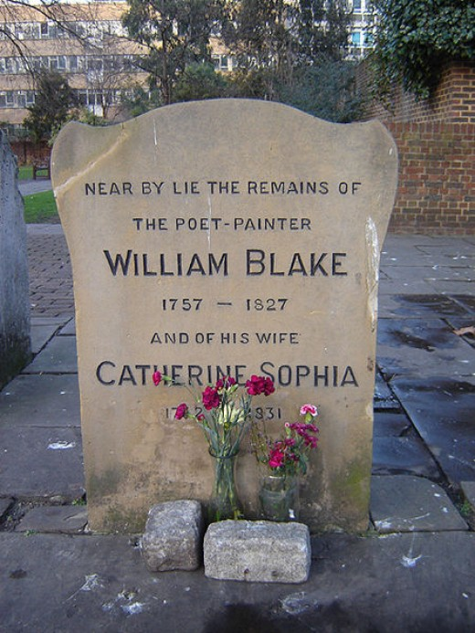 The final resting place of William Blake.